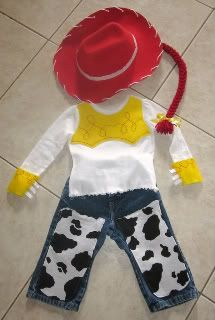 I think I'm going to make something similar for Aaliah's halloween costume. She Loves Jessie!!