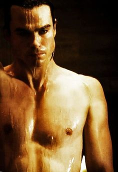 I am mostly uploading this for my sister lol. Ian Somerhalder - shirtless