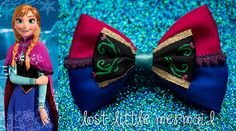Anna Hair Bow /  Frozen Inspired by LostLittleMermaid on Etsy, $11.50