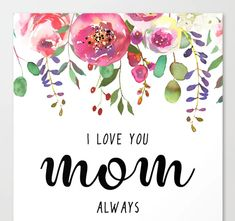 I love you mom Cheap Mothers Day Gifts, Mothers Day Special, Mothers Love, Mother Day Gifts, Happy Mothers Day, Balloon Basket, Balloon Flowers, I Love You Mom, Balloons