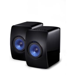 Amazon.com: KEF LS50W Powered Music System - Gloss Black/Blue (Pair): Home Audio & Theater