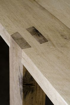 James Mudge | bench table detail