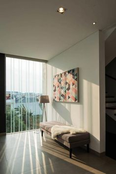 Image 4 of 28 from gallery of S+I House / DP+HS Architects. Photograph by Mario Wibowo Modular Structure, Interior And Exterior, Interior Design, Architect Design, My House, Relax, Photos, House Design, Living Room