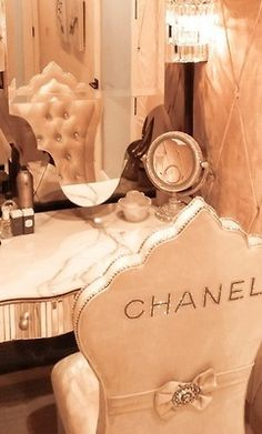 Chanel Chair ❤ ℒℴvℯly