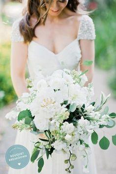 #SMPBouquetBreakdown: http://www.stylemepretty.com/2015/05/09/bouquet-breakdown-elegant-english-ballroom-wedding/ | Floral Design: BloominGayles - http://www.bloomingayles.co.uk/background/