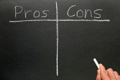 Not sure if you should postpone grad school? Make a pros and cons list!