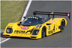 1990 FROM-A Porsche 962C Group C Silverstone Classic 2009