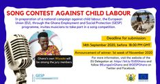 … The post Musical Contest Against Child Labour Launched In Accra appeared first on Music Arena Gh.