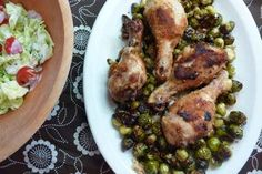 Roast Chicken with Baby Brussels Sprouts | 25 Dinners That Are Basically Impossible To Mess Up