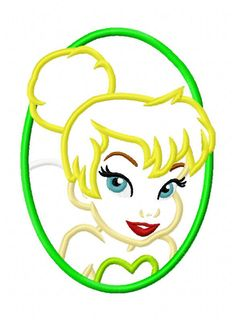 Fairy Applique Embroidery Design. $5.00, via Etsy.