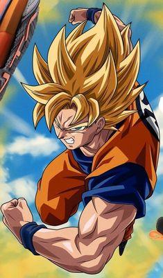 Son Goku (dragon ball Z) Goku Wallpaper, Wallpaper Animes, Animes Wallpapers, Dragon Ball Gt, Hanya Tattoo, Goku Super, Anime Characters, Digimon, Cartoon