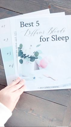 One of the biggest ways people use essential oils is to help get a restful night's sleep. Here are the best 5 essential oil diffuser blends for sleep! Essential Oils For Sleep, Best Essential Oils, Aromatherapy Benefits, Essential Oil Diffuser Blends, Oil Uses, Diys, Recipes, Bricolage, Recipies