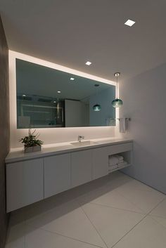 Back lit mirror   Pure Lighting - Aurora MR16 Accent Square Edge 3.3 - AH2-ASE3
