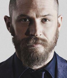 I wanna rub that beard so baaaad!!!!! #tomhardybeard