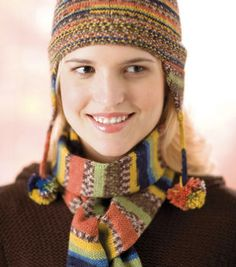 Get the Real Skinny Hat & Scarf Set