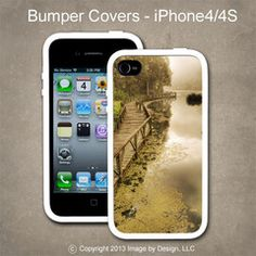 Tranquil Lake - I Phone 4, 4s Bumper Cover