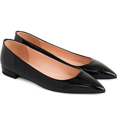 When it comes to picking the best shoes on the planet, we make a great team. Check out our list of the 13 very best flats from ballet to loafers. Pointed Flats, Pointy Toe Flats, Gucci Brixton Loafer, Best Flats, Leather Socks, Popular Shoes, Black Patent Leather, Womens Flats, Nordstrom