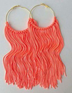 #Amazing #Earrings #Neon