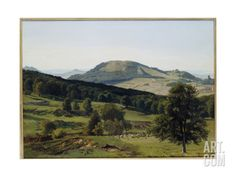 Landscape - Hill and Dale Giclee Print by Albert Bierstadt at Art.com