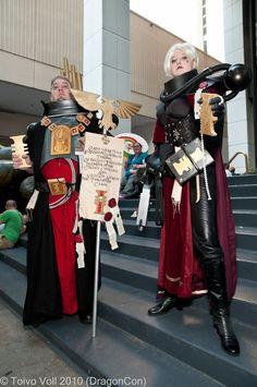 Ordo Hereticus warhammer cosplay