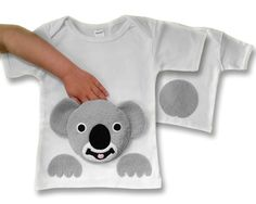 Baby Clothes Cute Koala 100/% Cotton Shirt Slim-Fit for Girls Tee Pretty Pattern