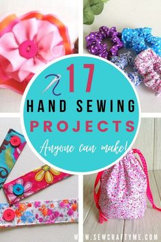 Are you looking for hand sewing projects to make? Check out these 17 hand sewing projects that is easy and fun to make. A one stop place for hand sewing crafts that are perfect for beginners. Be it for your home, yourself or your kids, this hand sewing projects round up offers a collection of patterns that are both easy and fun to work up.