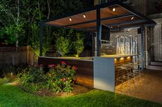 modern outdoor bar ideas will make it easy to entertain and enjoy the warmer months within your outside space!