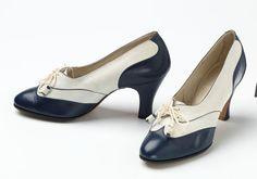 Shoes, 1930-1938 | vintage 1930s heels pumps | 30s shoes