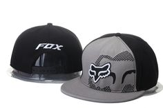 Fox Snapback Hats Gray/Black|only US$20.00 - follow me to pick up couopons.