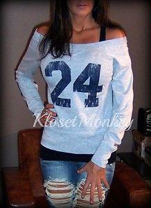 Football Sweatshirts! That's Evan's number!! #24