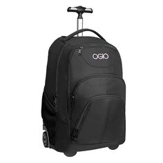 OGIO Phantom Black Orchid Wheeled Backpack