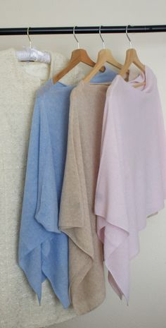 Scarlett Cashmere Poncho. Made in Italy