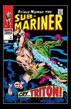 Sub-Mariner Marvel Silver Age Comics Marvel Comics, Marvel Comic Books, Comic Books Art, Comic Art, Marvel Vs, Silver Age Comics, Univers Marvel, Vintage Comic Books, Vintage Comics