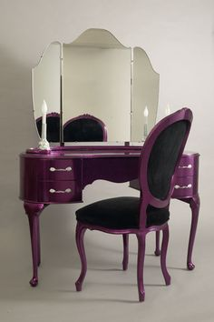 Hot Rod Vanity ~ Fourteen coats of custom automotive fleck paint were used to create this piece