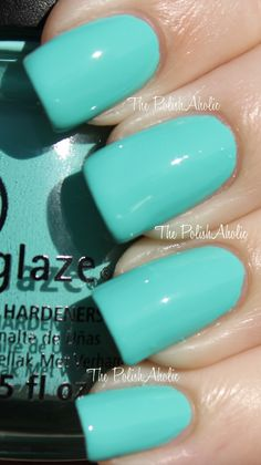 China Glaze Aquadelic Nails