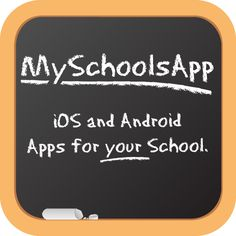 MySchoolsApp - great way to tap into your school community! My Schools App