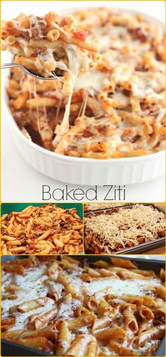 Cheap yet Healthy Baked Ziti - 25 Recipes for Large Groups on a Budget