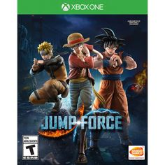 """""""Jump Force,"""" priced at for PlayStation 4 and Xbox One, features Goku from """"Dragon Ball,"""" Luffy from """"One Piece,"""" Naruto from """"Naruto"""" and many others. Anime Ps4, Manga Anime, God Of War, Naruto Shippuden, Boruto, Ninja Storm 4, Jeux Xbox One, Nintendo, Spike Chunsoft"""