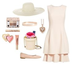 """Garden Party"" by bowbeauty01 ❤ liked on Polyvore featuring Oscar de la Renta, Jennifer Ouellette, Kate Spade, Chloé, Thomas Sabo, Too Faced Cosmetics and Lana Jewelry"