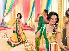 Designer - Seema Gujral. See Kareena kapoor lengha photo for top inspiration to rewear lengha