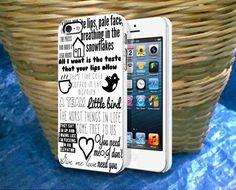 Ed Sheeran Lyric iPhone 4 4S 5 5S 5C , iPod Touch 4 5 and Samsung Galaxy S3 S4 S5 Note 3 Case