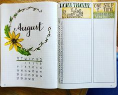 12 Bullet Journal August Cover Ideas That Are Gorgeous - Meraadi