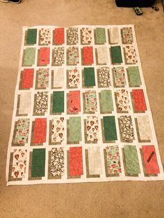 My #Shawdowbox #quilt made from a quilt kit from Running Stitch in Kent Wa. #quilt #quilts #quiltpattern