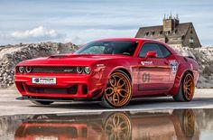 Тюнинг-ателье #PriorDesign подготовило пакет стайлинга для масл-кара #Dodge Challenger Hellcat (ВИДЕО)