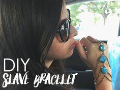 DIY Slave Bracelet | Alonso Sobrino Hnos. Co. & Inc. Druzy Beads and Fabrics