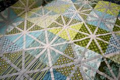 Asterisk Quilt -  Complete by Cut To Pieces, via Flickr