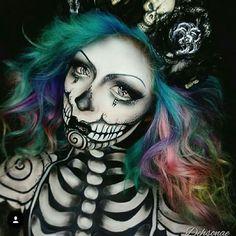 Awesome halloween makeup