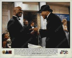 1997 - LL Cool J with Evander Holyfield boxer in IN THE HOUSE Press Photo 71