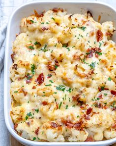 Healthier Cauliflower Gratin for a Delicious Side Dish!