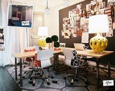 oh, lonny lonny #office #decor